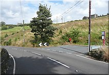 SE0022 : Bus turning bay, Blackstone Edge Road, Mytholmroyd by Humphrey Bolton