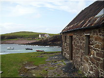 NC0327 : Old salmon hut, Clachtoll by Gordon Hatton