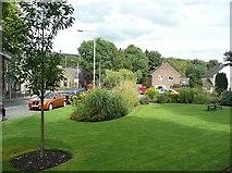 SE0125 : Public garden, Mytholmroyd by Humphrey Bolton