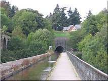 SJ2837 : Chirk Canal Tunnel and Aqueduct by John Charlton