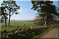 NO2051 : Above Gauldswell , open land with Smyrna on the horizon by Alisdair Mclean
