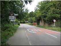 TL7835 : Sible Hedingham: Station Road by Nigel Cox