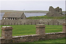 HU3909 : Jarlshof from the Sumburgh Hotel by Mike Pennington