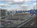 TQ3780 : Docklands Light Railway sidings at Poplar by Stephen Craven