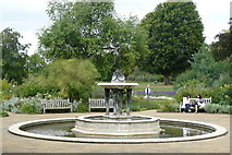 TQ2779 : Ornamental Pond, Hyde Park by Peter Trimming