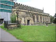 SJ3454 : The south side of All Saints', Gresford by John S Turner