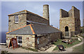 SW3634 : Levant whim engine house by Chris Allen