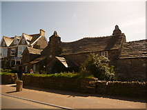 SX0588 : Tintagel: the old post office by Chris Downer