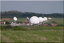 SO8944 : Satellite station, Defford Airfield by Philip Halling