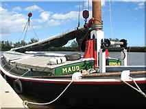 TG3802 : The trading wherry 'Maud' by Evelyn Simak