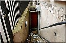 J3373 : Basement steps, Belfast by Albert Bridge