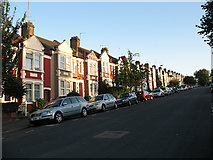 TQ4077 : Houses on the east side of Wyndcliff Road by Stephen Craven