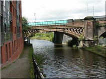 SJ8297 : St Georges, railway bridges by Mike Faherty