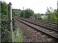 NS4274 : Glasgow to Dumbarton railway by Richard Webb