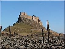 NU1341 : Lindisfarne Castle by William Stafford