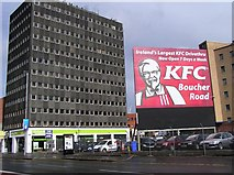 J3373 : KFC sign, Great Victoria Street, Belfast by Kenneth  Allen