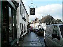 SX7087 : Ring O Bells, The Square, Chagford by Rob Purvis