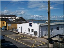 J3729 : Newcastle's Lifeboat Station and the Harbour Inn from the South Promenade by Eric Jones