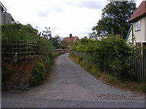 TM3569 : Church Lane, Peasenhall by Adrian Cable