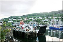 NR8668 : Ferry at Tarbert by Andrew Wood