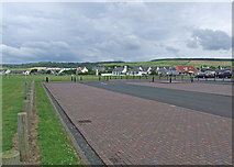 NS2107 : Harbour Road car park by Dennis Turner