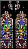 TM2384 : St Margaret, Starston, Norfolk - Window by John Salmon