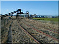 NU1234 : Easington Quarry sidings by William Stafford