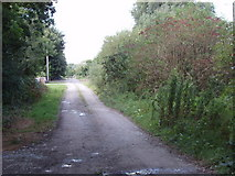 S4713 : Other Road (not even 3rd class) near Kilbunny Church by David Hawgood
