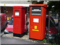 SY6890 : Dorchester: postboxes № DT1 2000 and DT1 511, Bridport Road by Chris Downer
