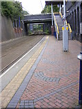 SO9596 : Waiting for a Tram by Gordon Griffiths