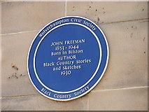 SO9596 : John Freeman by Gordon Griffiths