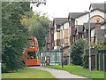 SK5136 : Bus stop at Sandby Court by Alan Murray-Rust