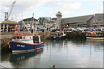 SW8132 : Fishing Boats at Falmouth Harbour by roger geach