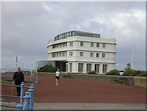SD4264 : Midland Hotel Morecambe by Stephen Armstrong