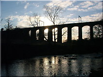 NU2212 : The Aln Viaduct by William Stafford