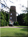 TF2918 : Moulton Chapel Mill, south Lincs by Rodney Burton