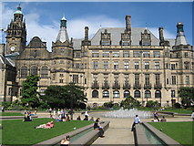 SK3587 : Town Hall, Sheffield by Richard Rogerson