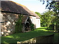 SO6960 : The Old Church, Lower Sapey by Peter Whatley