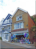SZ5881 : Beach Hut, Shanklin, Isle of Wight by Christine Matthews