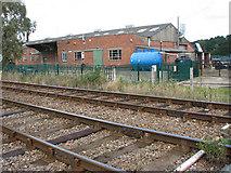 TM4598 : Haddiscoe depot by Evelyn Simak