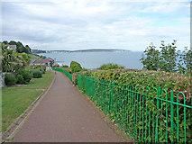 SZ5881 : Keats Green Footpath, Shanklin by Christine Matthews
