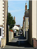 SU1585 : Alley to Cricklade Road, Swindon by Brian Robert Marshall