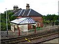 NY4654 : Wetheral Station by David Rogers