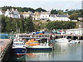 X6999 : Harbour with pilot boat at Dunmore East by David Hawgood