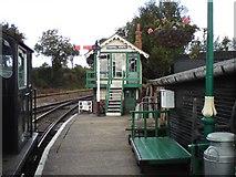 TL8928 : Chappel North Signal Box by Tim Marchant