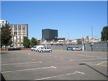 SU6400 : Looking across Greetham Street Car Park towards the former Zurich Building by Basher Eyre