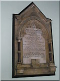SU6400 : Memorial to the first vicar at St Luke's, Portsea by Basher Eyre
