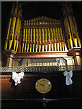 SU6400 : The organ at St Luke's, Portsea by Basher Eyre