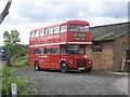TQ6544 : Routemaster at Holmewood Farm by Oast House Archive