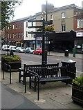 SE3320 : Street furniture, Wood Street by Mike Kirby